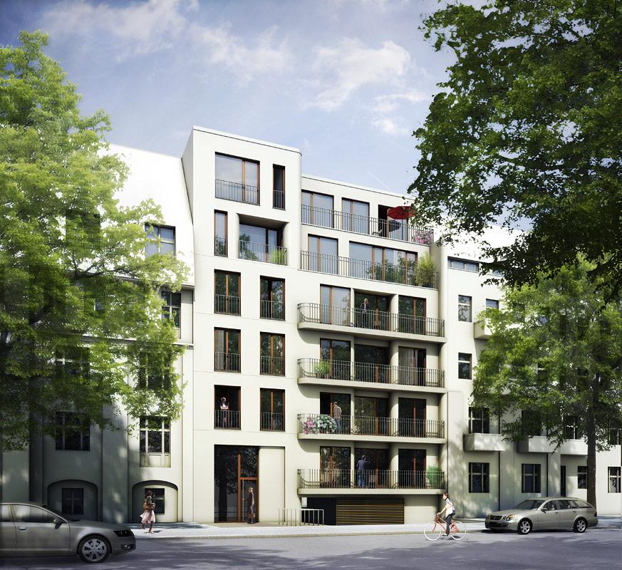 Start burger architekten berlin for Mehrfamilienhaus berlin